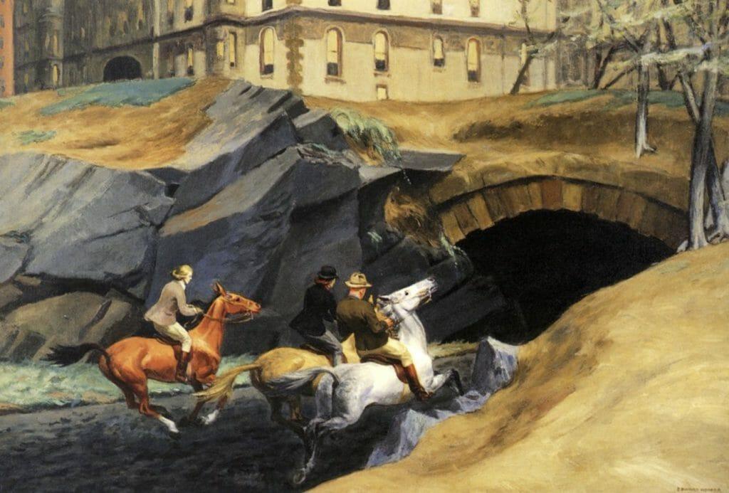 Bridle Path by Edward Hopper