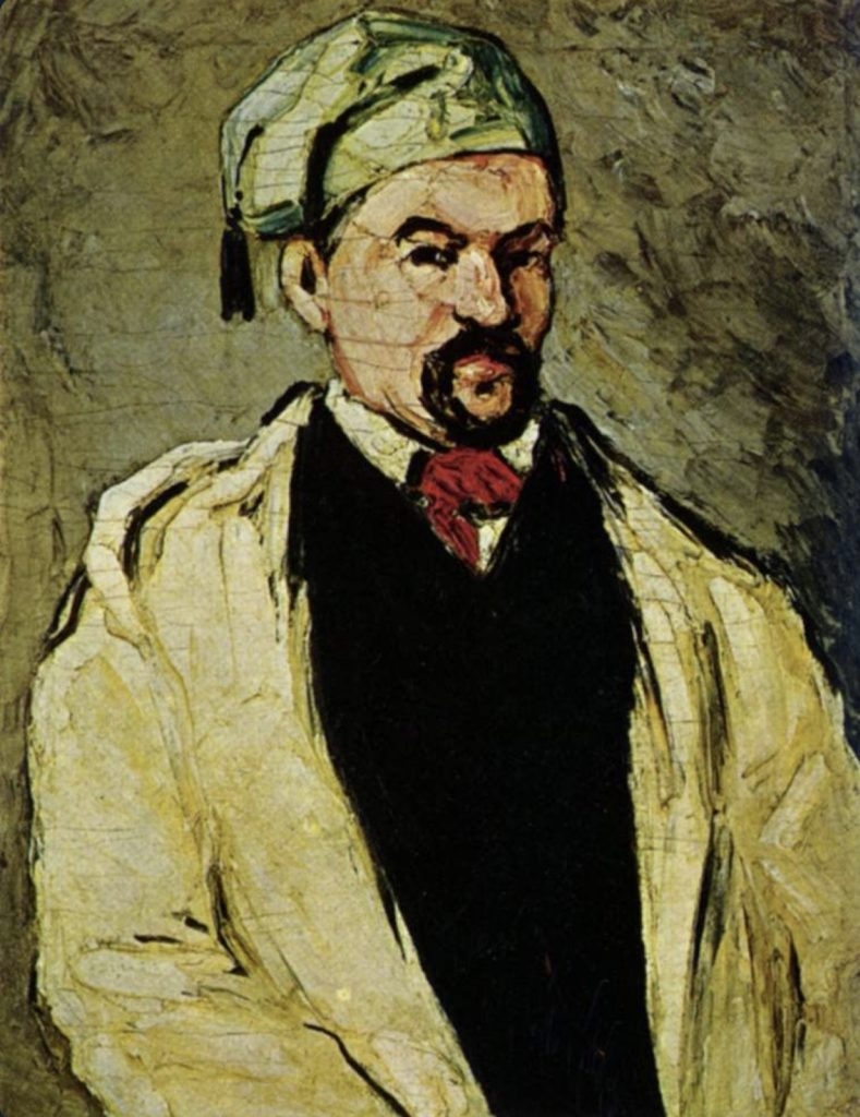 Oncle Dominique de Paul Cézanne