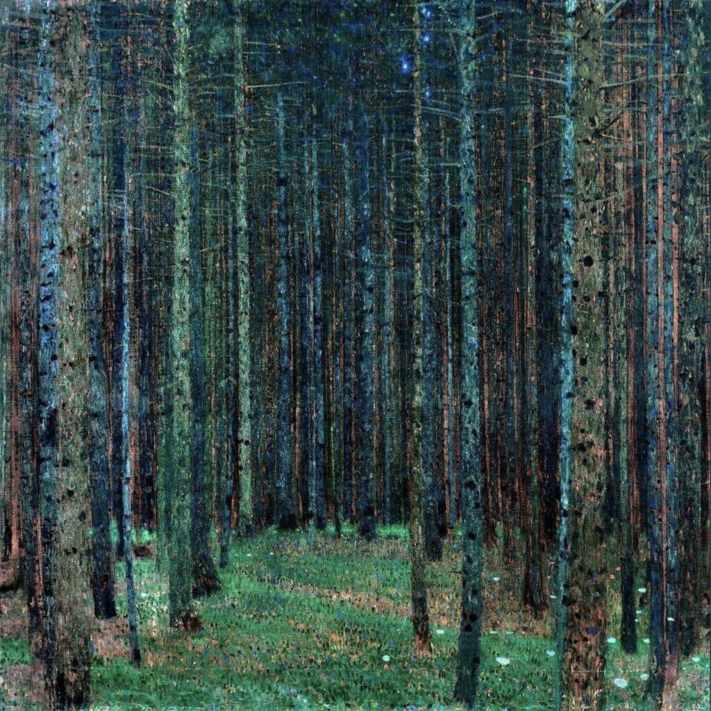Tannenwald I de Gustav Klimt