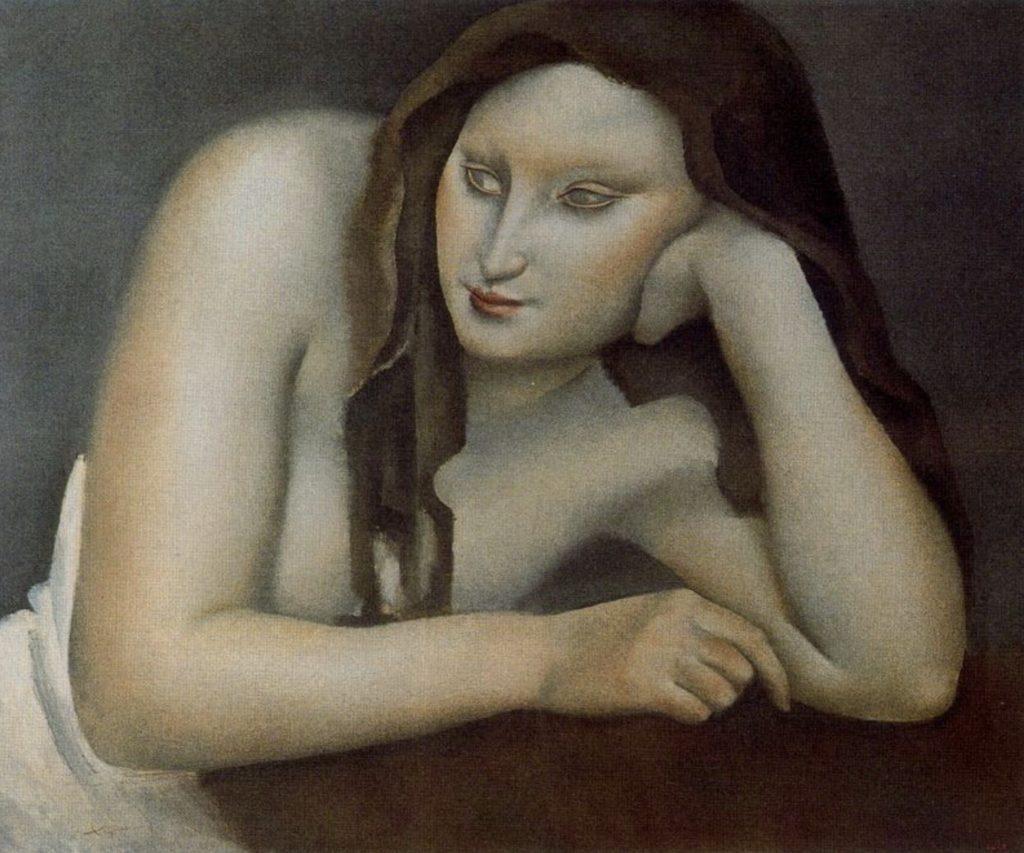 Portrait de femme par José de Togores
