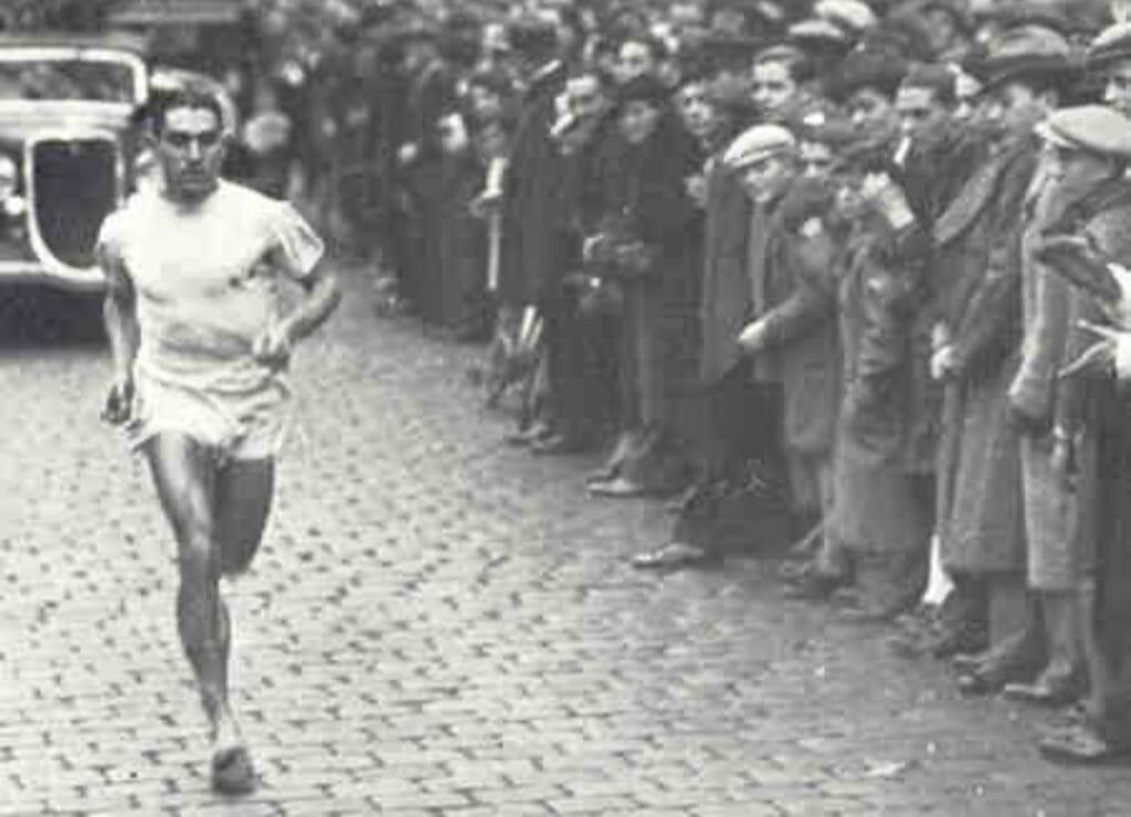 Jules Ladoumègue, Paris, 1935