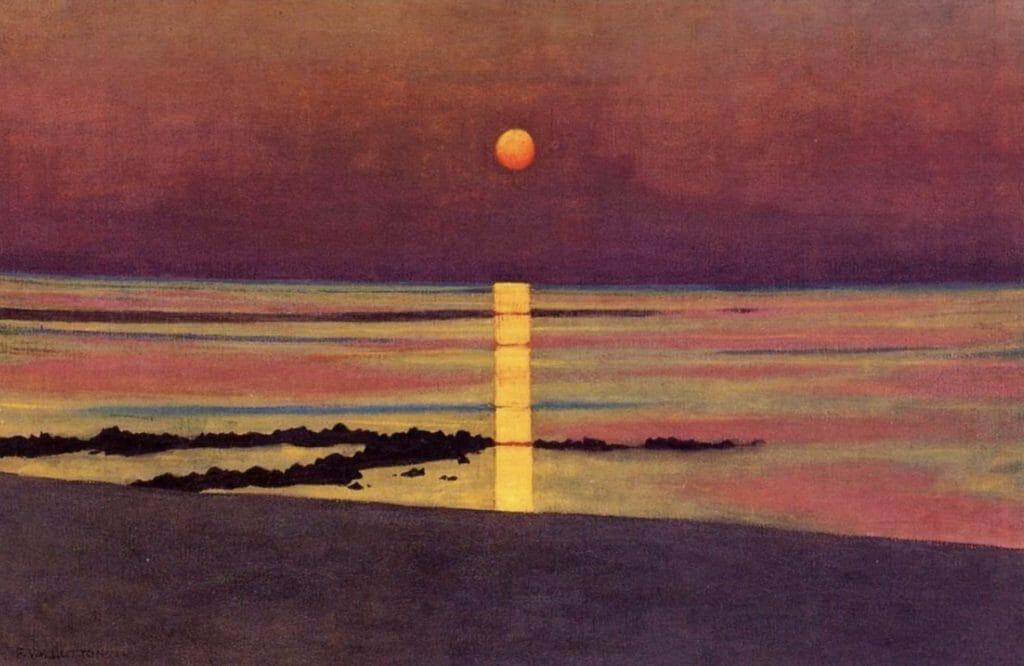 Coucher de soleil de Félix Vallotton