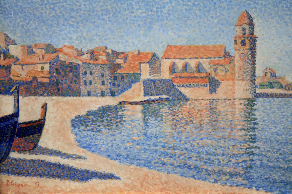 Collioure par Paul Signac