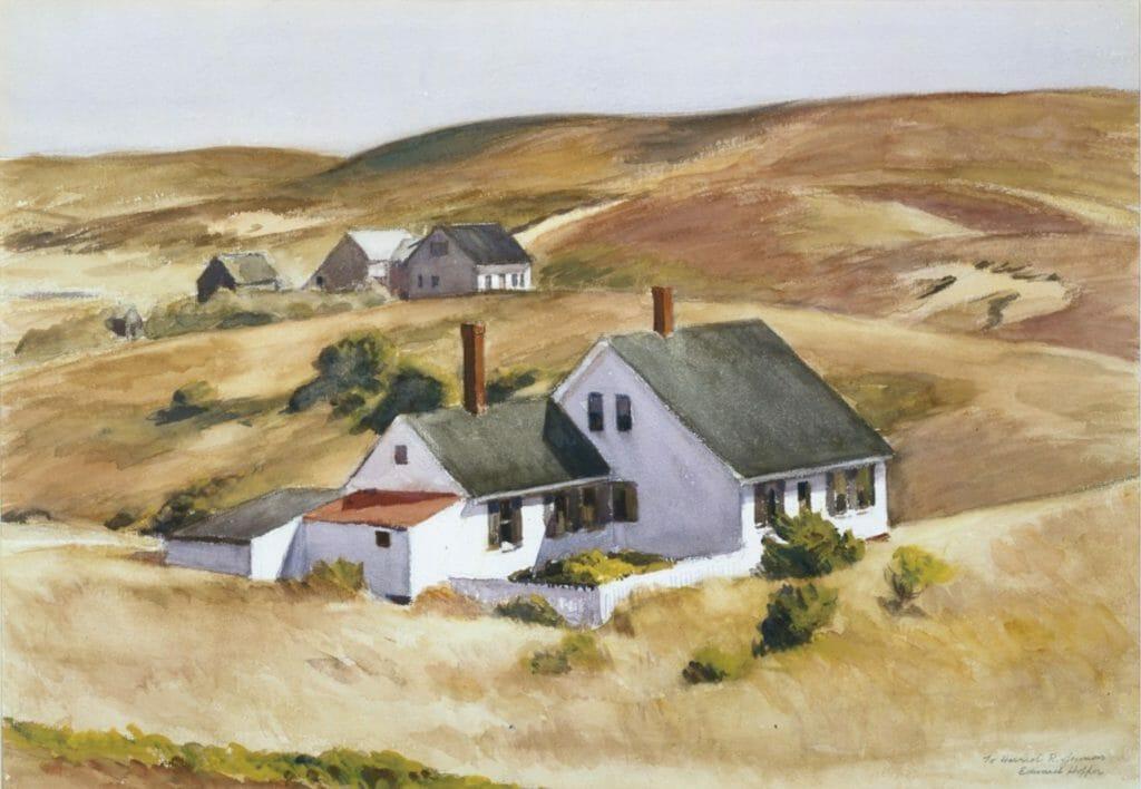 Maison Jenness, Truro par Edward Hopper