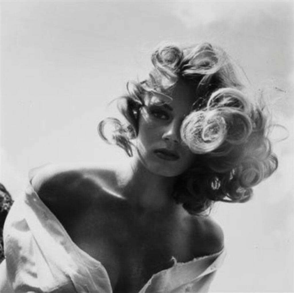 Photo d'Anita Ekberg Peter Basch