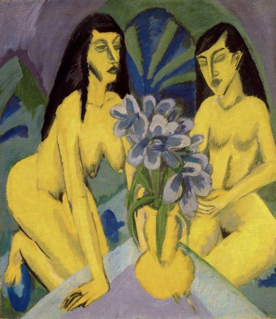 Bouquet de fleurs d'Ernst Kirchner