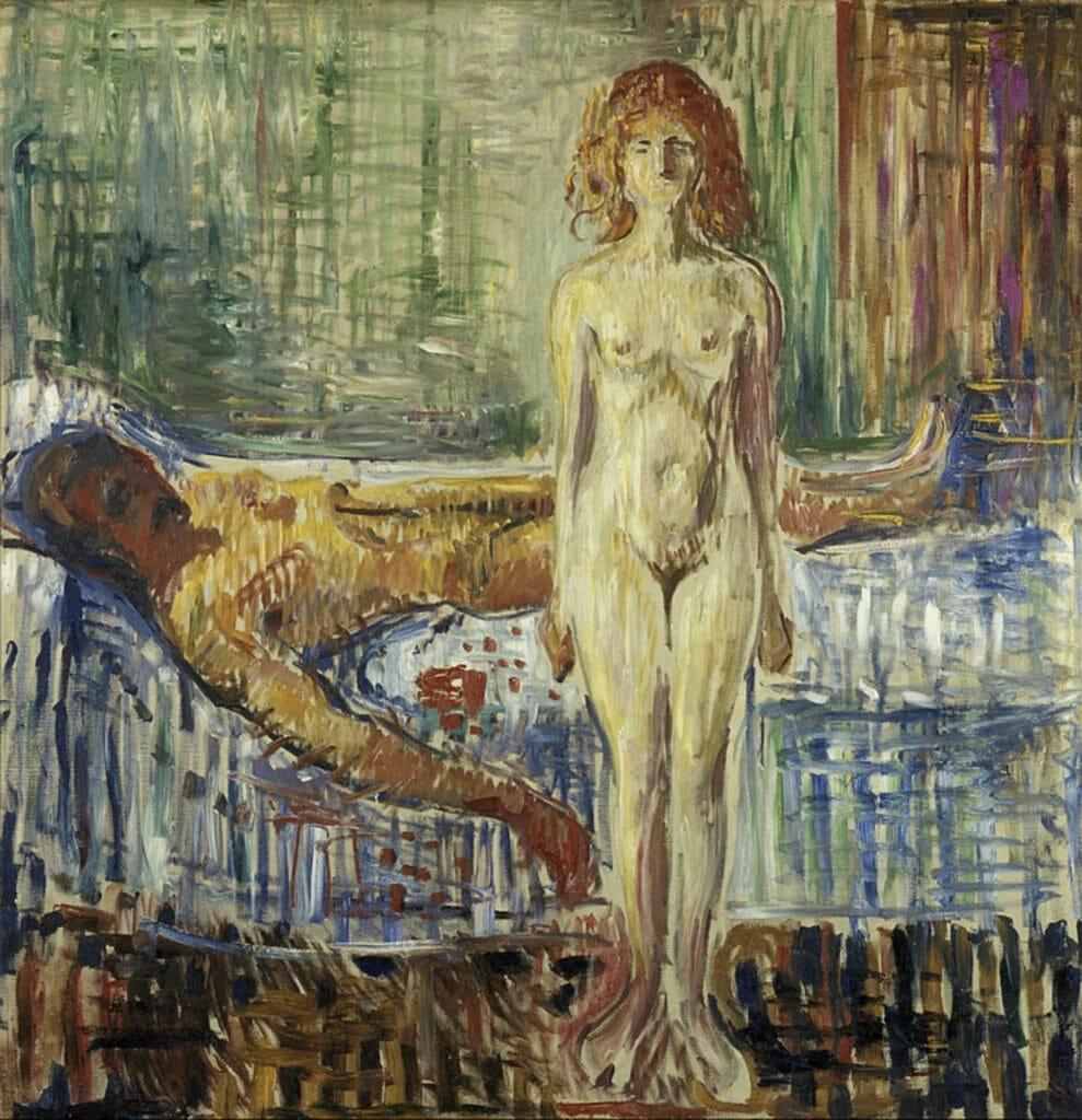 La mort de Marat II par Edvard Munch