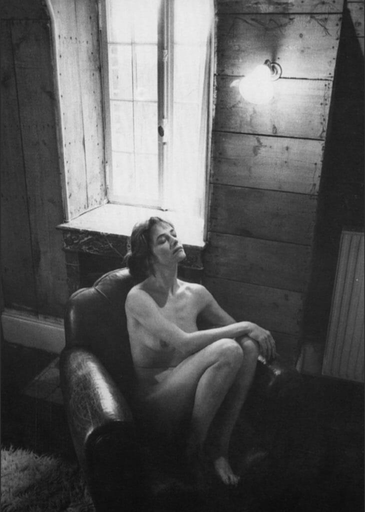 Charlotte Rampling par JeanLoup Sieff