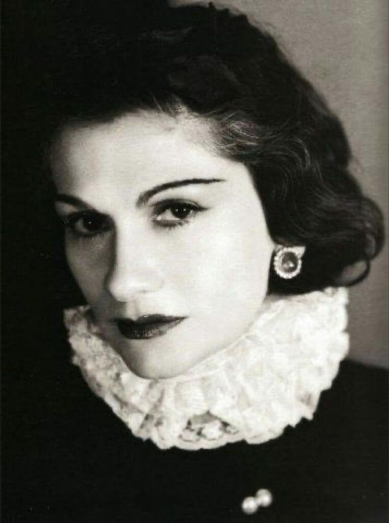 Portrait de Coco Chanel par George Hoyningen-Huene