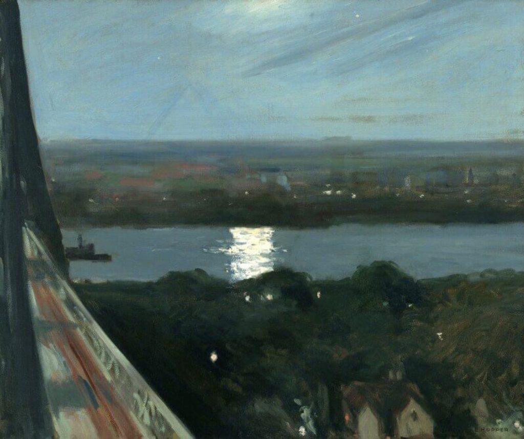 Île de Balckwell par Edward Hopper