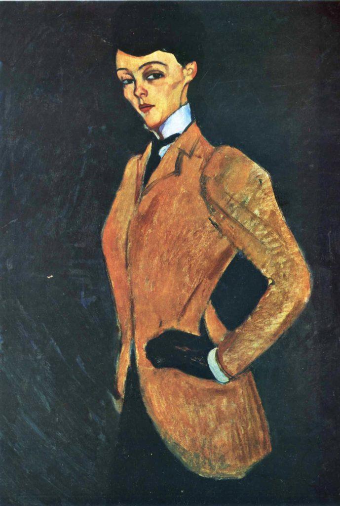 L'Amazone d'Amedeo Modigliani