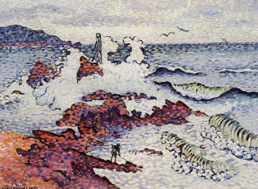 La Méditerranée par vent d'Est d'Henri-Edmond Cross