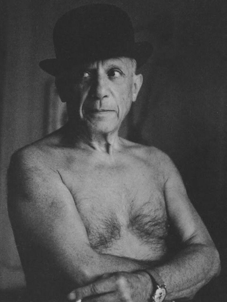 Pablo Picasso par Jacques-Henri Lartigue