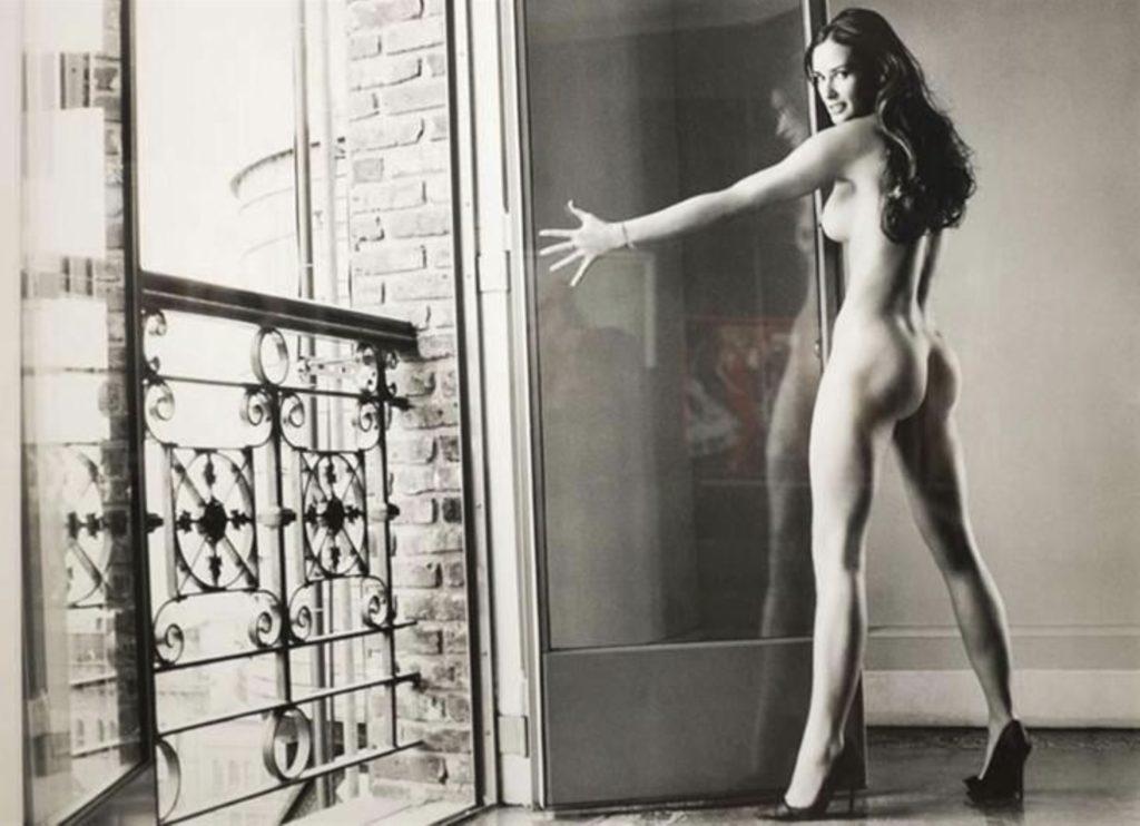 Photo de Demi Moore par Mario Testino