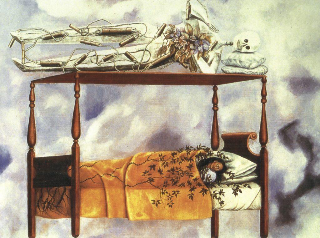 Le rêve par Frida Kahlo