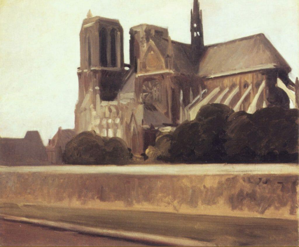 Notre-Dame par Edward Hopper