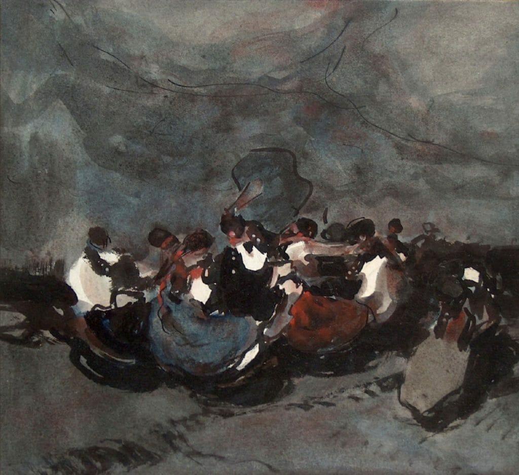 Tableau de Gyula Rudnay