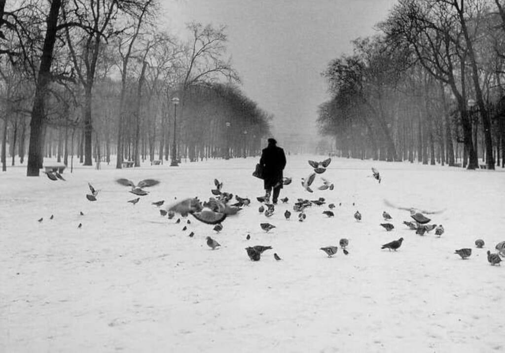 Paris, les Tuileries par Robert Doisneau