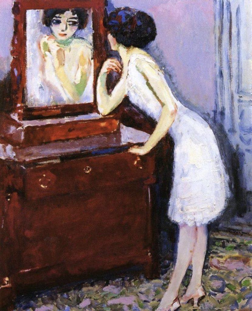 Face au miroir de Kees Van Dongen