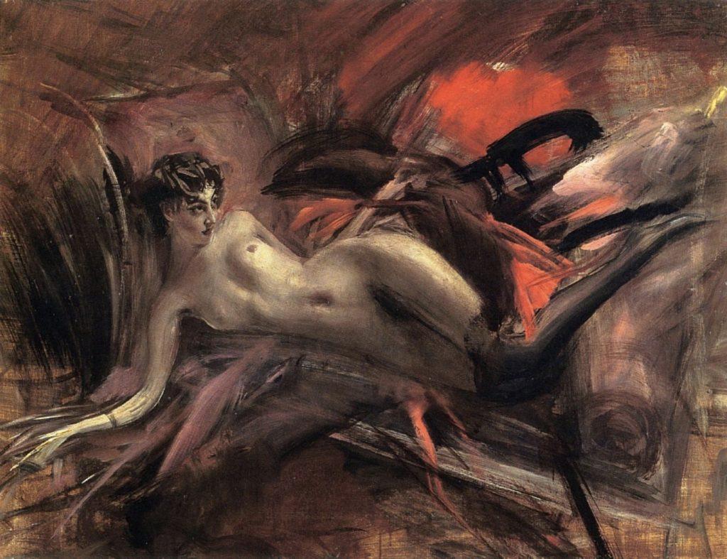 Nu allongé de Giovanni Boldini
