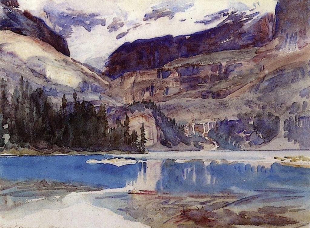 Lac O'Hara by John Singer Sargent