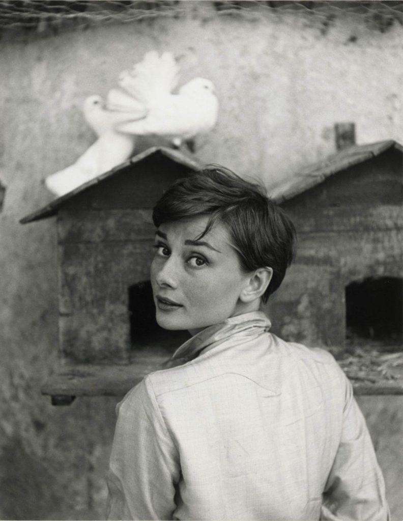 Audrey Hepburn par Philippe Halsman