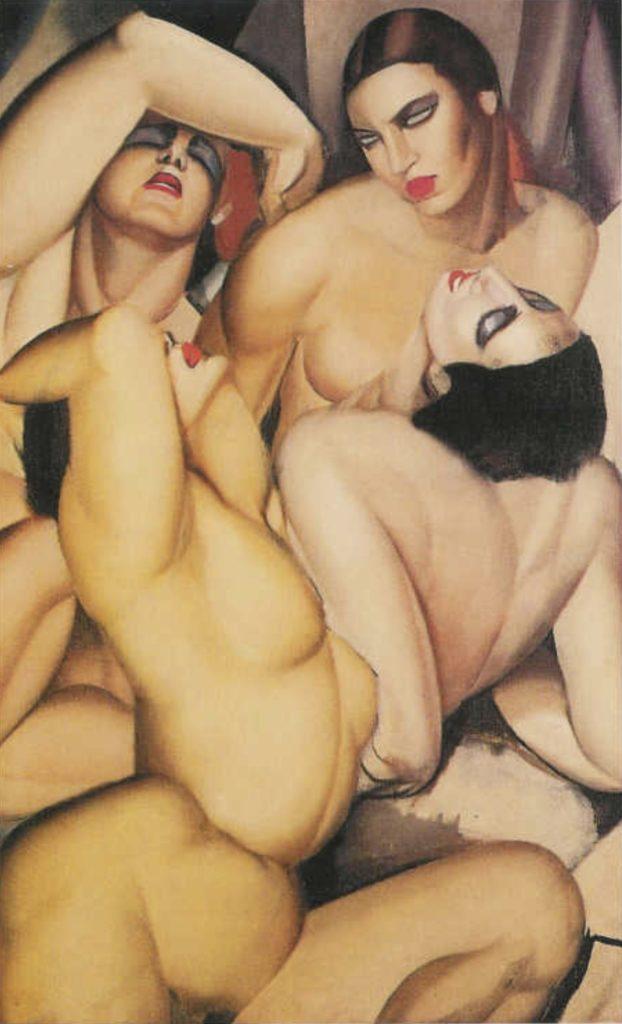 Groupe de quatre nus de Tamara de Lempicka