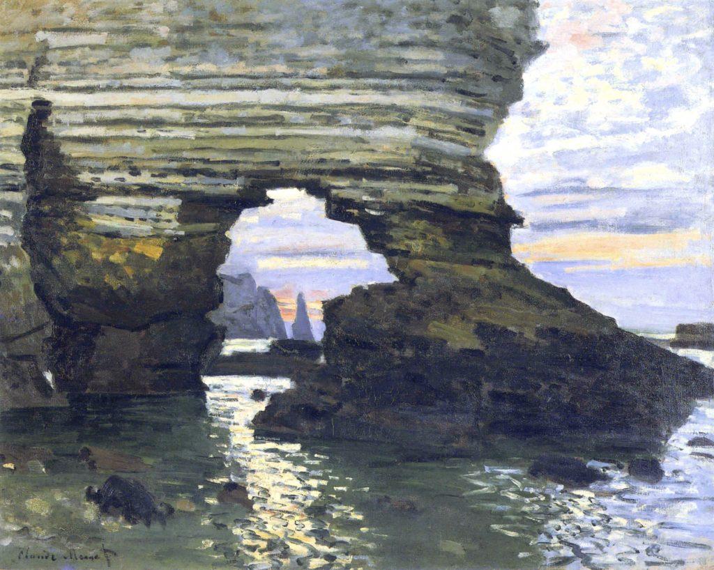 Etretat par Claude Monet