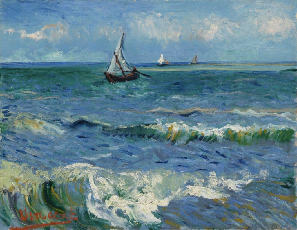 Paysage marin près des Saintes-Marie de la mer Par Vincent Van Gogh