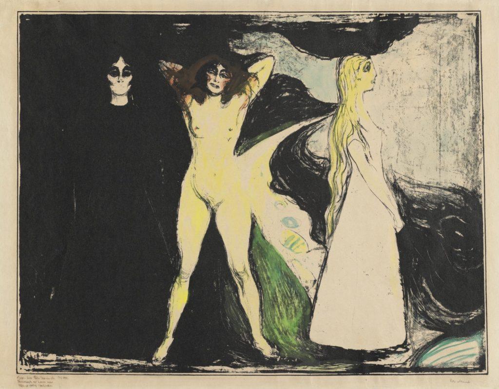 Femmes d'Edvard Munch