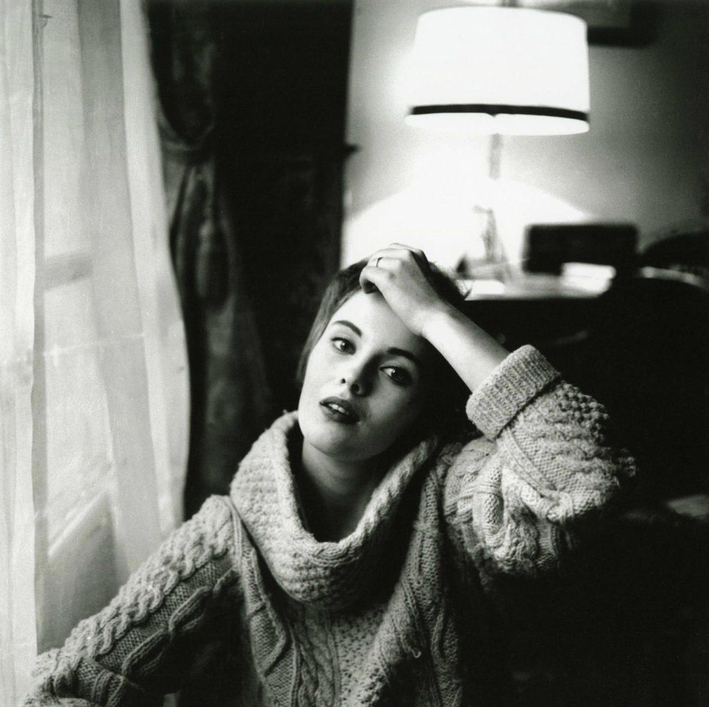 Portrait de Jean Seberg par Mario Dondero