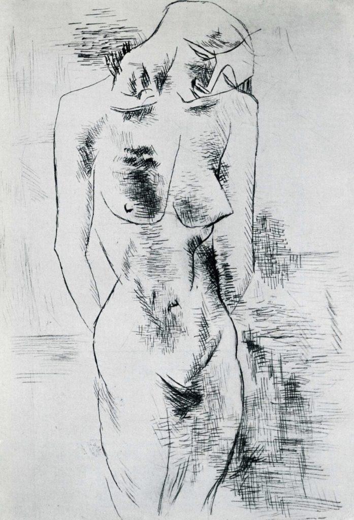 Étude de nu de Georges Braque