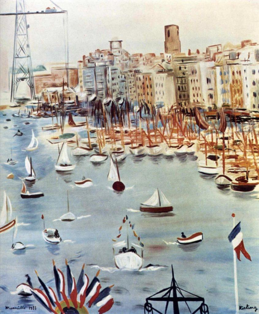 Marseille par Moïse Kisling