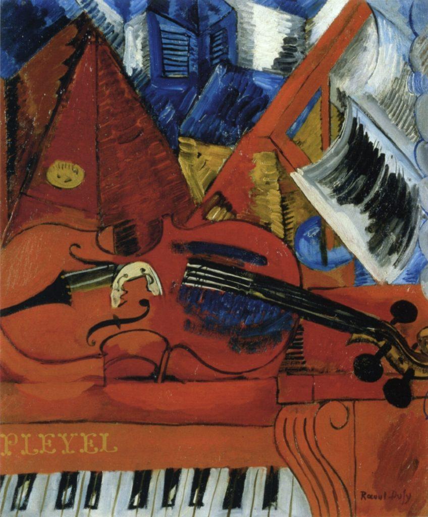Le violon par Raoul Dufy