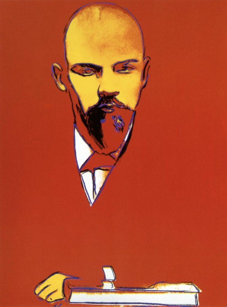 Lénine par Andy Warhol