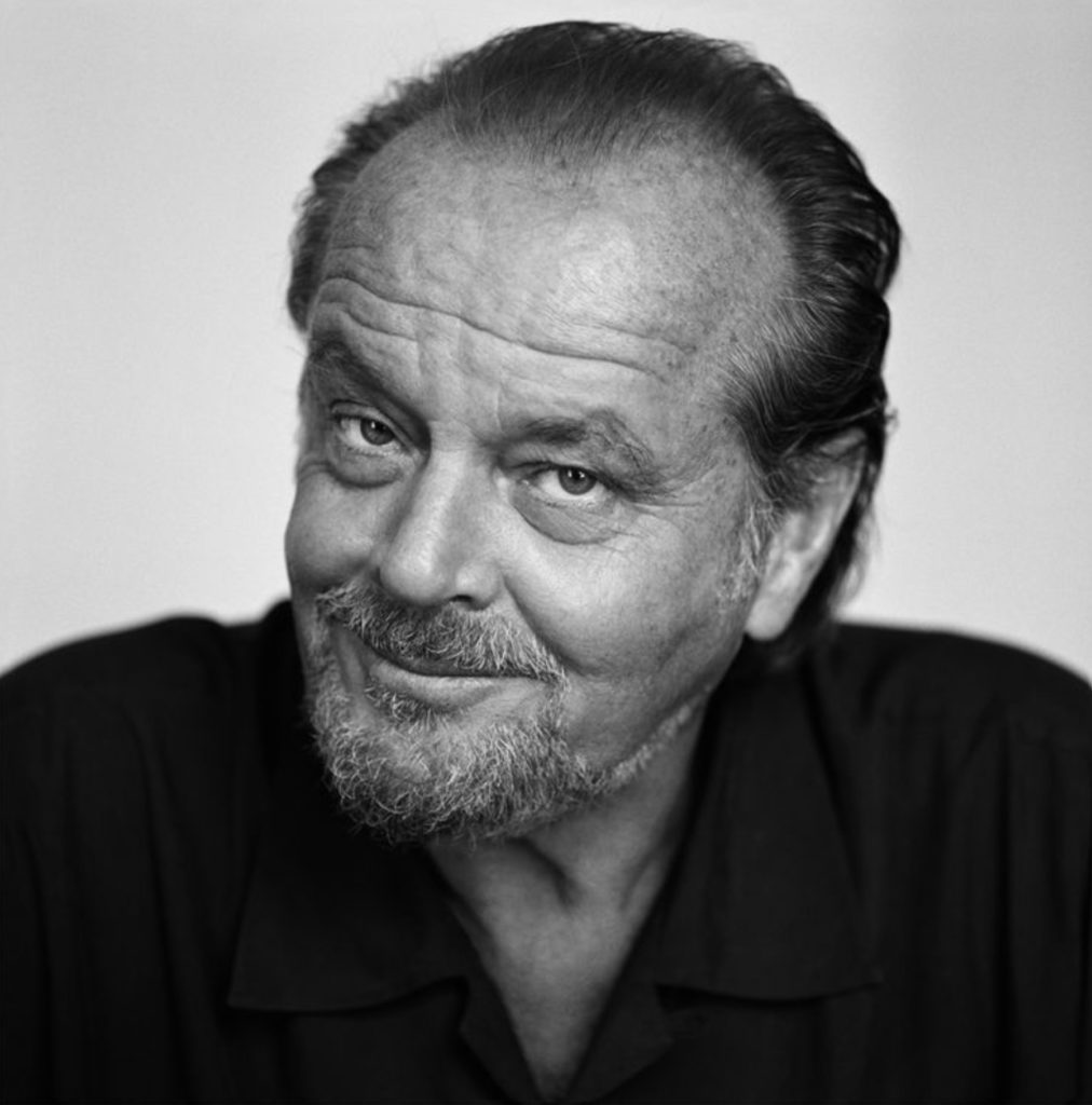 Portrait de Jack Nicholson par Brigitte Lacombe