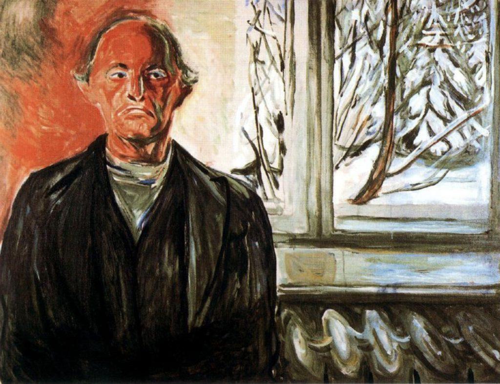 Par la fenêtre d'Edvard Munch