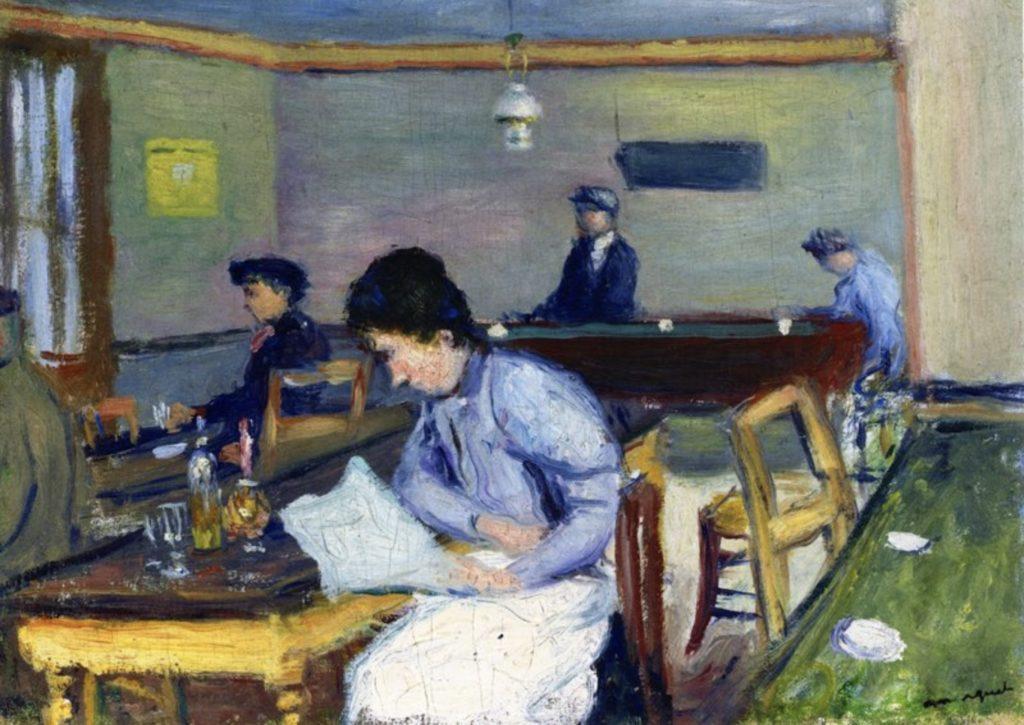 Café par Albert Marquet