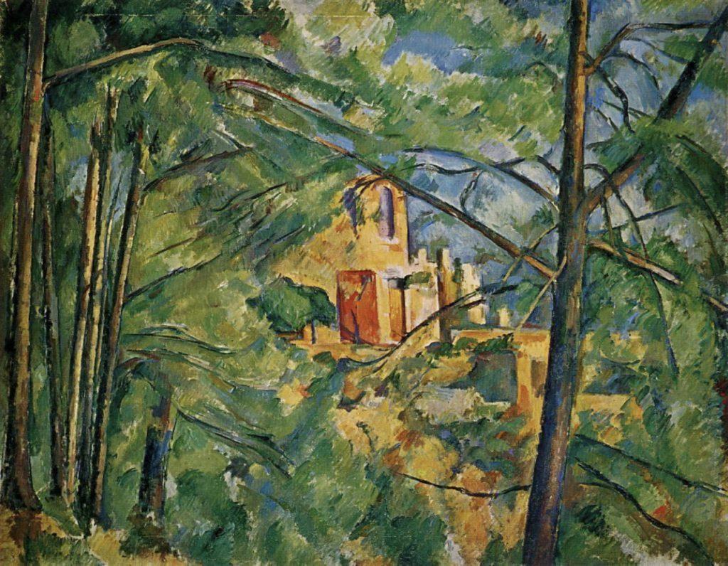 Château noir de Paul Cézanne