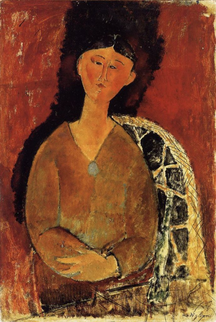 Beatrice Hastings, assise d'Amedeo Modigliani