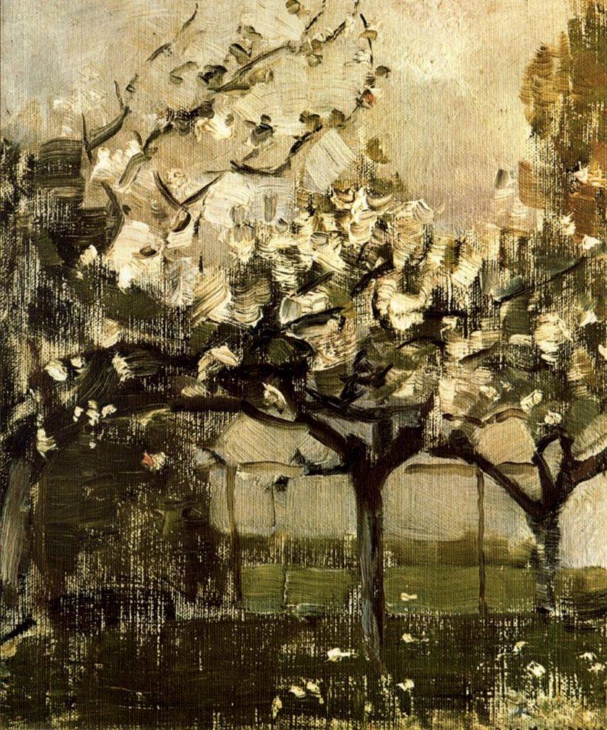Alberi par Piet Mondrian