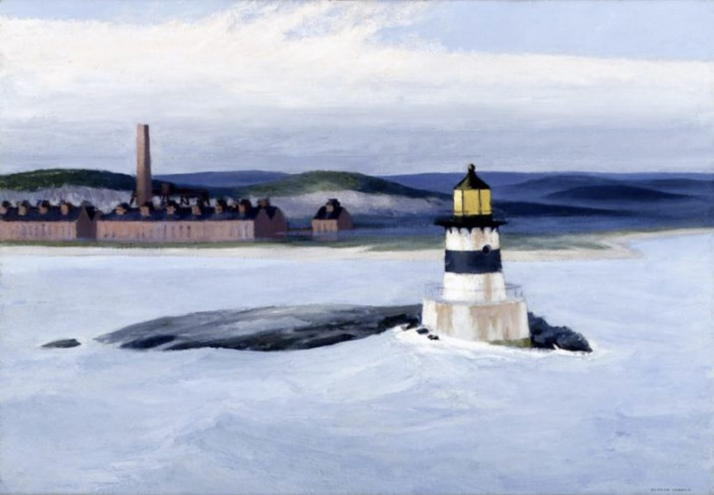 Five AM by Edward Hopper