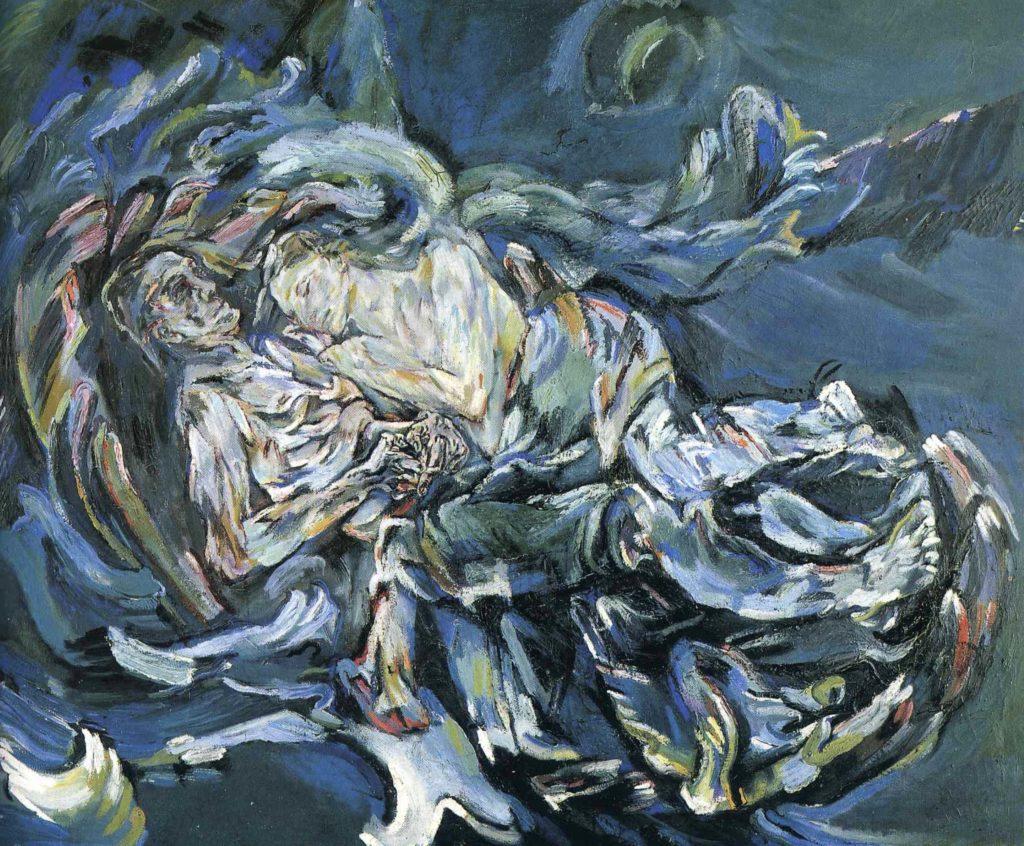 Mariée du vent par Oskar Kokoschka