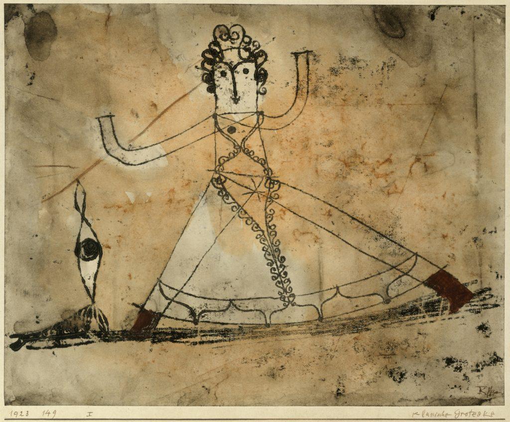 Classical Grotesque par Paul Klee