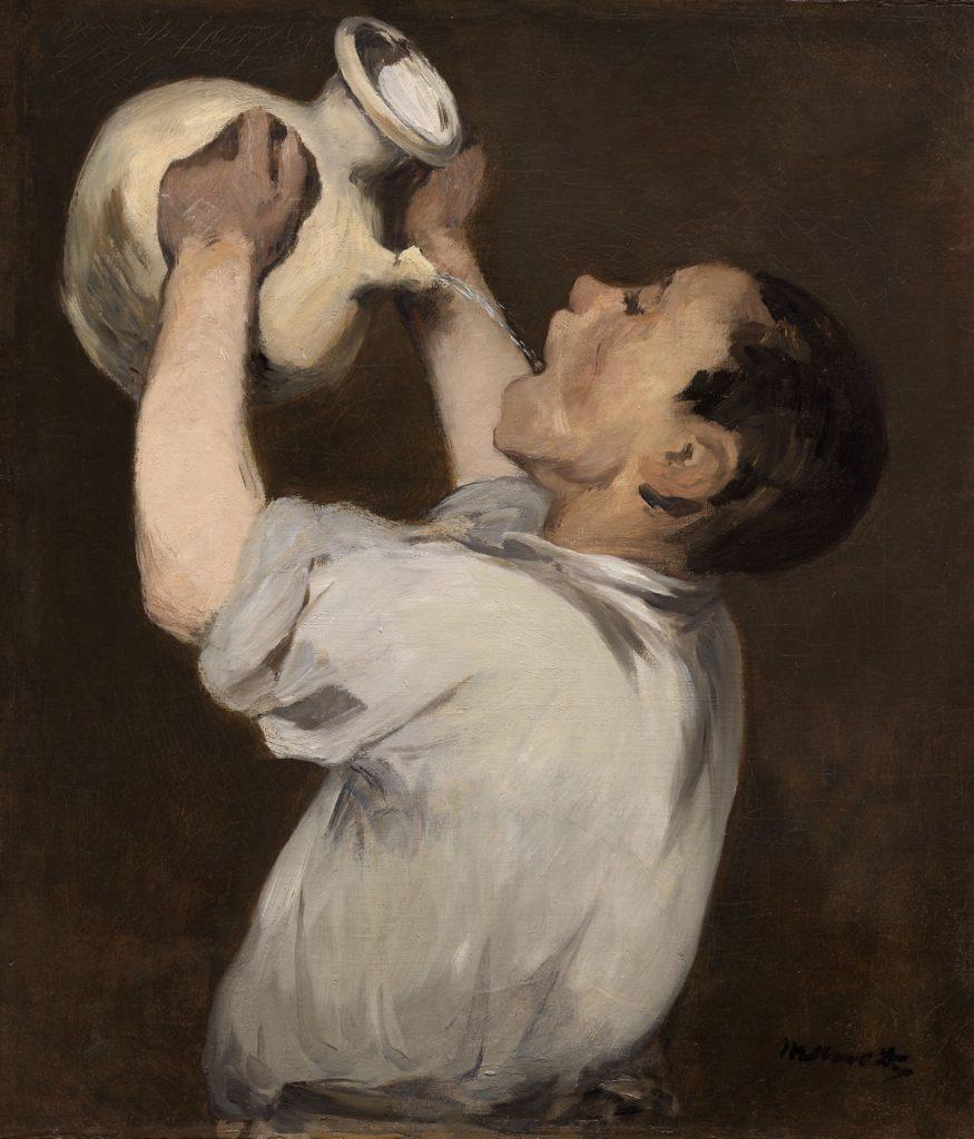 La régalade d'Edouard Manet
