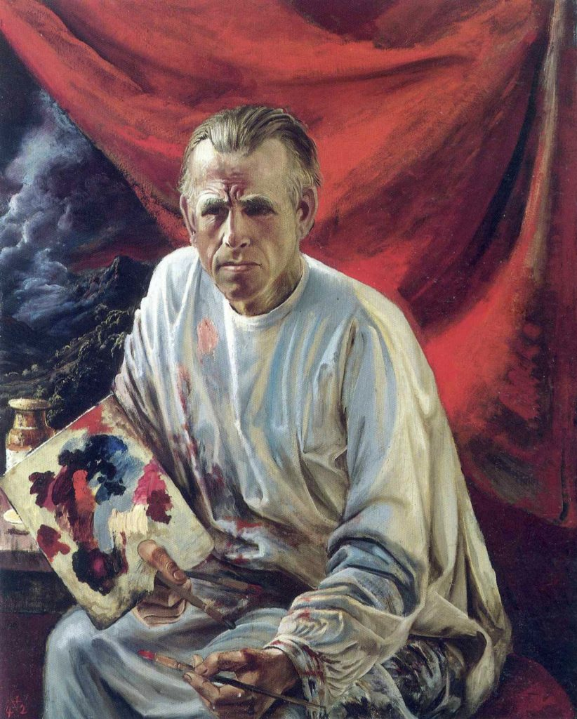 Autoportrait d'Otto Dix