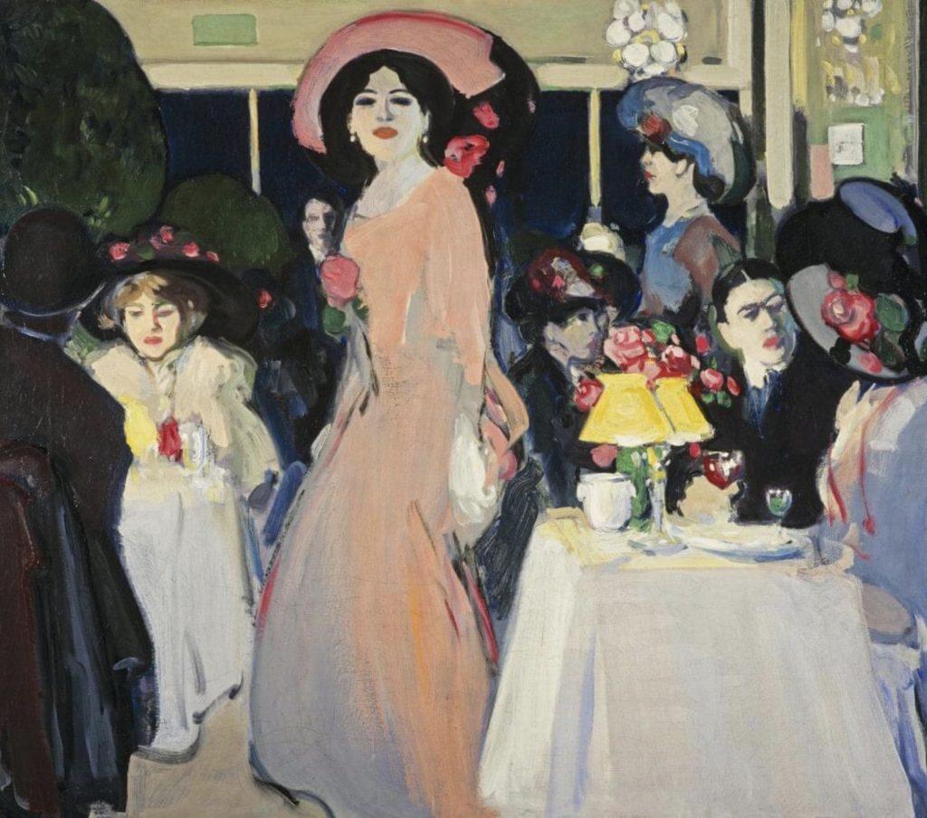 John Duncan Fergusson,  La Terrasse, Café d'Harcourt
