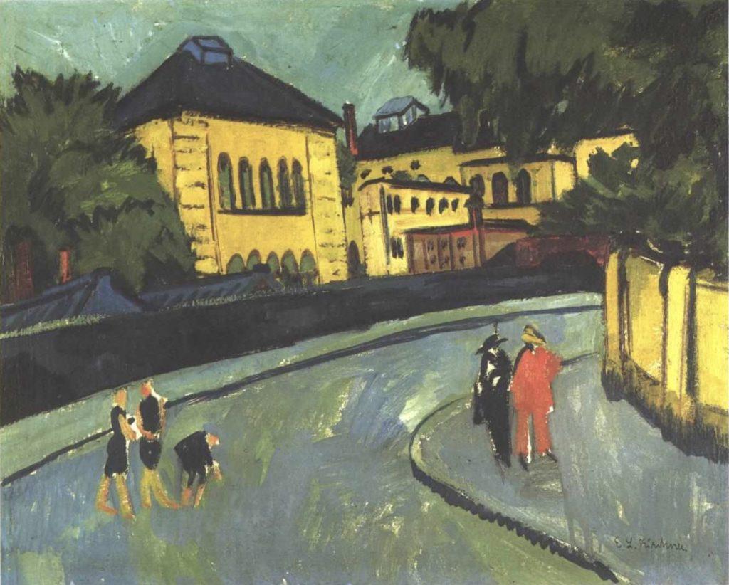 Dresden Friedrichstadt d'Ernst Ludwig Kirchner