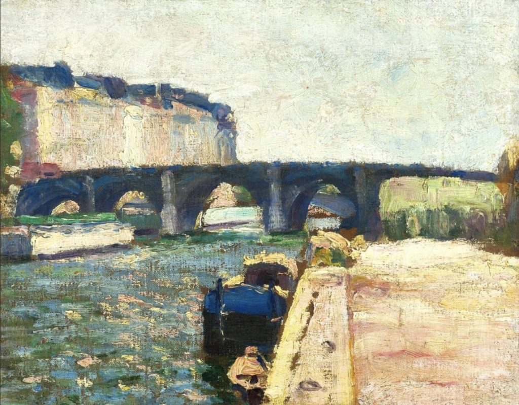 Pont de Seine d'Henri Matisse