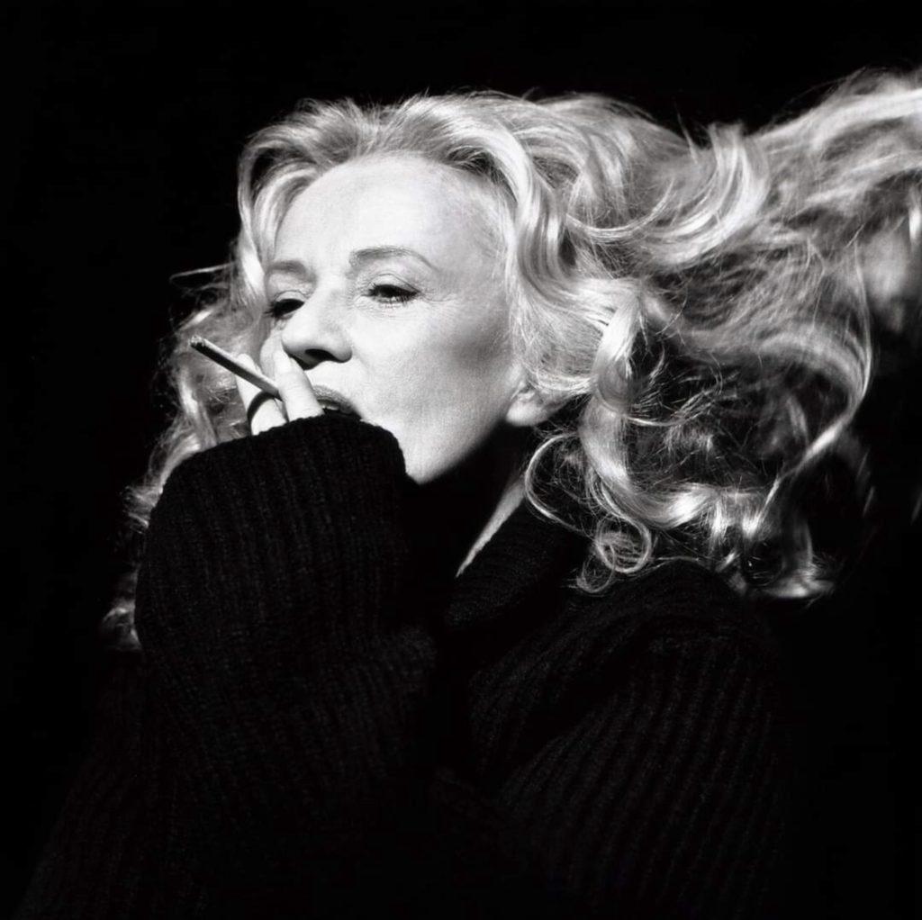 Photo de Jeanne Moreau par Brigitte Lacombe